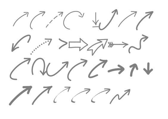 Creative Mindly: Imágenes y tipografías flechas: mejora tus DIY