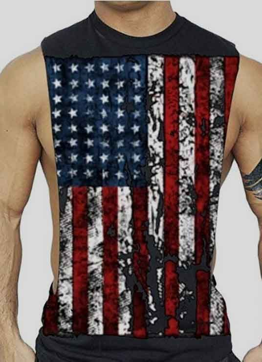 American Tank Tops For Guys To Keep Your Patriotism Flowing American Tank Top Tank Tops American Tank