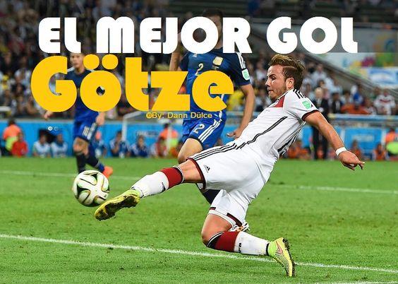 El gol de Mario Götze ante Argentina en la final del Mundial fue elegido por los alemanes como el mejor tanto del año 2014
