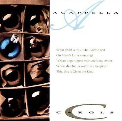 Acappella Carols The Series Christmas 1990 Cd *New Word Diamante Christian CCM  #Christmas