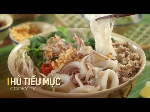 Cookyvn đối Gio Bằng Mon Hủ Tiếu Mực đặc Trưng Miền Tay Song Nước C Viet Food Food Vegetables