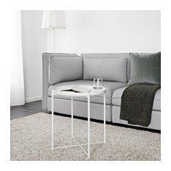 IKEA - GLADOM, Mesa/bandeja, verde oscuro, , La bandeja extraíble también se puede utilizar para servir.