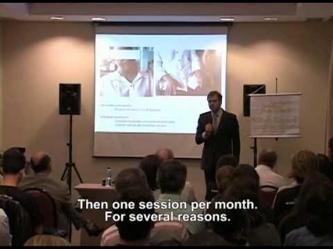 Palestra sobre o Método Kovacsik para câncer por Daniel Kovacsik da AEMK...