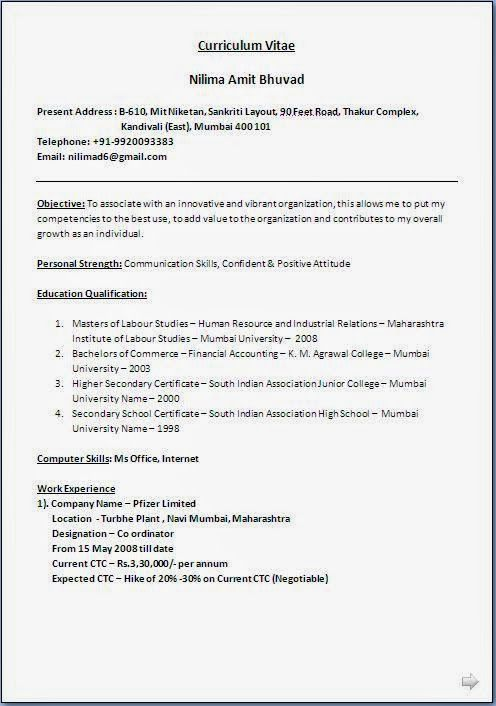 best resume writers Sample Template Example ofBeautiful Curriculum - best format to email resume