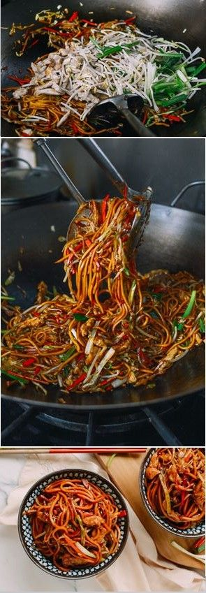 Chicken Lo Mein, recipe by the Woks of Life