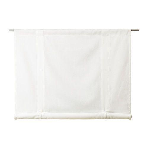 EMMIE Tenda avvolgibile IKEA Facile da appendere su un bastone per tenda, grazie al canale sul bordo superiore.