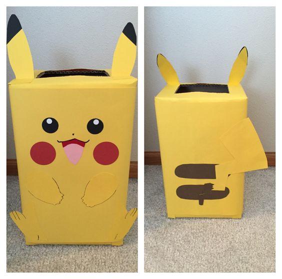 Schön Pikachu Pokemon Valentine Box | Valentine Boxes For Mason | Pinterest |  Pikachu, Pokémon And Box
