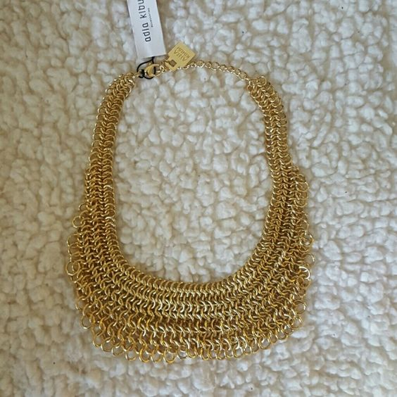 Adia Kibur Chain Necklace Gorgeous gold necklace is my first FEF purchase. Adia Kibur Jewelry Necklaces