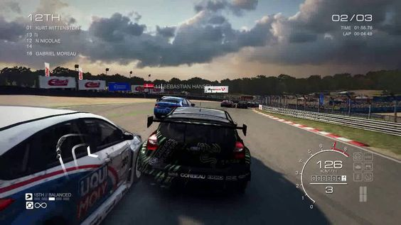 GRID Autosport - Gameplay PC ( Race 6 )