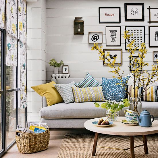 laidback style on the country days blog Living Room Pinterest