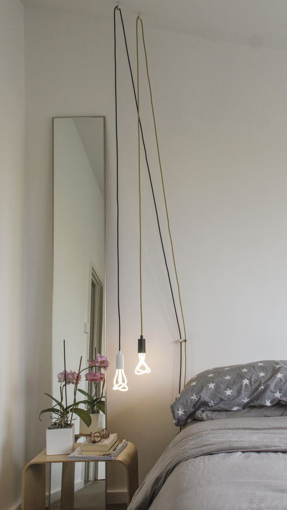 Light Ideas For Rooms Without Ceiling Lights 2019 Allen Roth Home Bedside Lighting Pendant Lighting Bedroom Bedroom Lighting