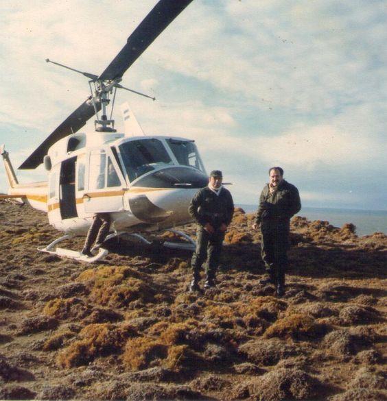 Helicóptero de la Gobernación del Chaco