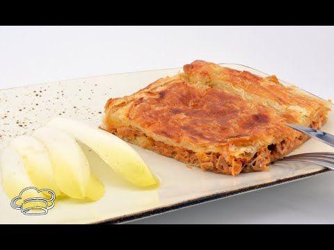 Empanada De Jamon Asado Con Masa De Hojaldre Facil Y Rapida