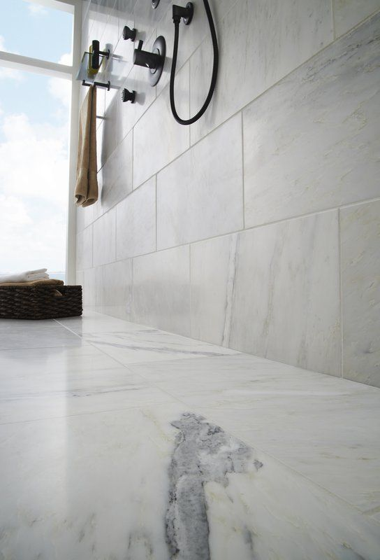 Arabescato Carrara 12 X 24 Marble Stone Look Wall Floor Tile Marble Bathroom Floor And Wall Tile Carrara