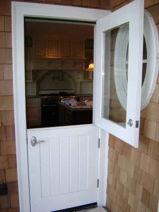 The dutchess the old and dutch on pinterest for Sliding glass back door