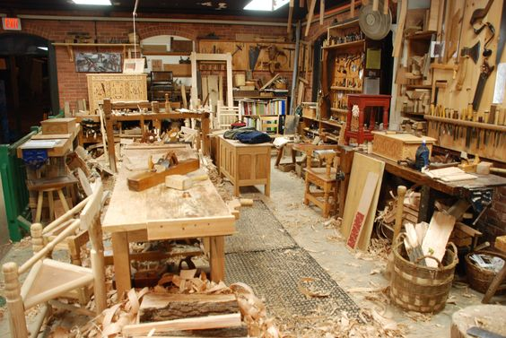 A Well-Used Workshop