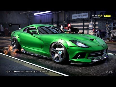 Need For Speed Heat Srt Viper Gts 2014 Customize Tuning Car Pc Hd 1080p60fps Youtube En 2020