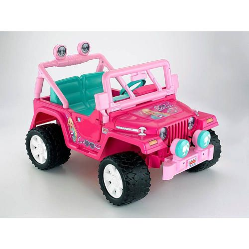 "Power Wheels Barbie Jammin' Jeep - Power Wheels - Toys ""R"" Us"