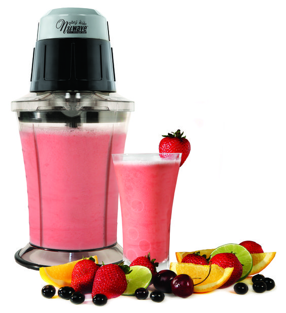 The nuwave party mixer is perfect for making frozen drinks for The perfect drink mixer