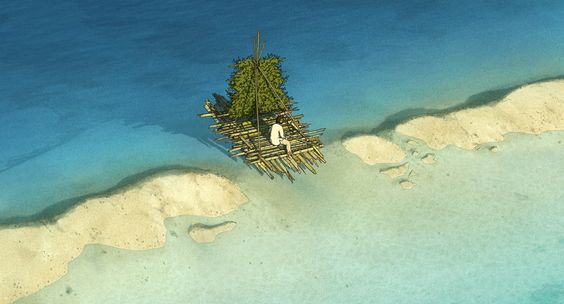"""ca-tsuka: """"New pictures of """"The Red Turtle"""" animated feature film by Michael…"""