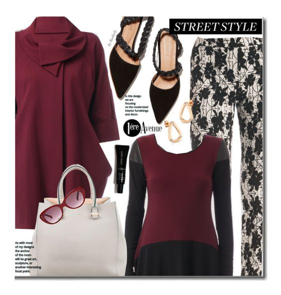 """""""Fall Street Style"""" by beebeely-look ❤ liked on Polyvore featuring Joseph Ribkoff, Ulla Johnson, Victoria Beckham, Oliver Goldsmith, country, StreetStyle, streetwear, premiereavenue, premiereavenueboutique and JosephRibkoff"""