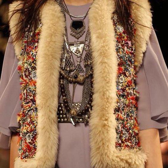 Saint Laurent Spring 2015!!!  boho collection #great #boho #fashion #spring #saintlaurent #thepeachskin