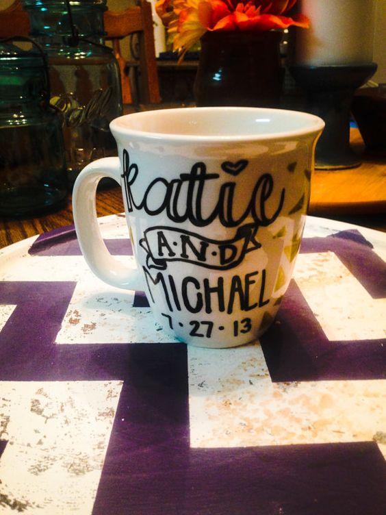 Personalized Coffee Mug/ Marriage Mug on Etsy, $10.00