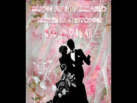Anniversario 19 Anni Di Matrimonio.Buon Anniversario Nozze Di Cretonne 19 Anni Di Matrimonio