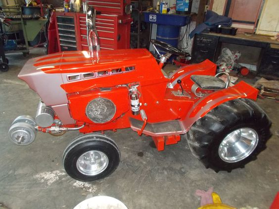 how about this awsome sears suburban garden tractor custom puller pic2 ga rod en tractor