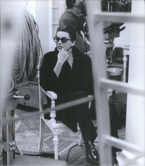 Silvana Mangano. Una pausa sul set di Morte a Venezia (1971), di Luchino Visconti