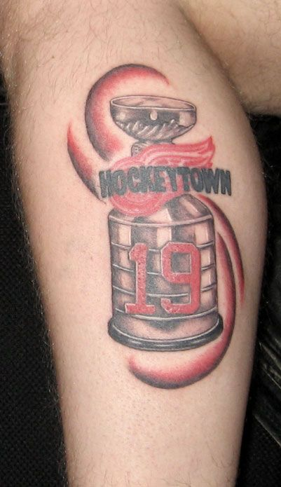Detroit red wings detroit red wings tattoo red wings for Tattoos in detroit