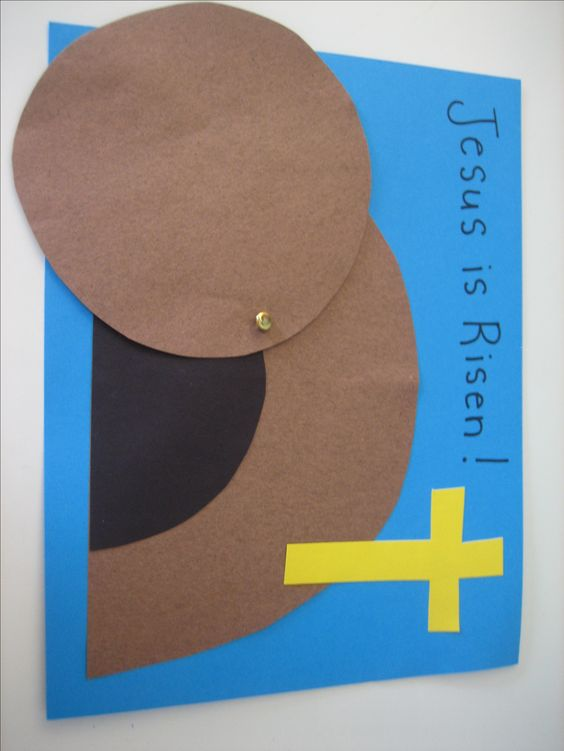 2 easy easter paper crafts pinterest sunday school for Pinterest bible crafts