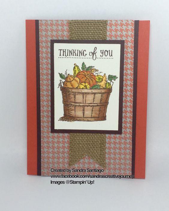 Stampin' Up! Basket of Wishes stamp set