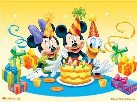 Cancion De Feliz Cumpleaños Para Niños Youtube Feliz Cumpleaños De Mickey Mouse Canciones De Feliz Cumpleaños Feliz Cumpleaños Niña