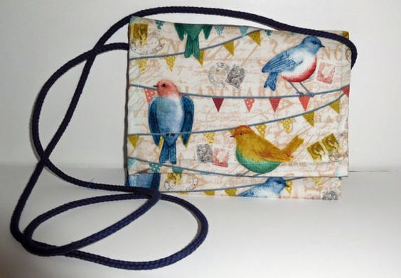 Check out this item in my Etsy shop https://www.etsy.com/listing/248023489/cross-body-bird-pouch-cross-body-pouches