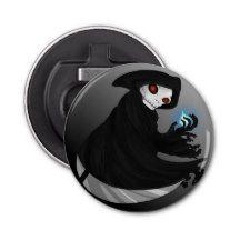 Grim Reaper Halloween Bottle Opener