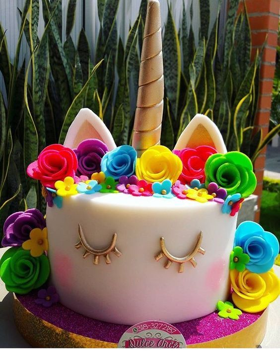 Fiestas Infantiles De Unicornio Como Hacer Una Fiesta De Unicornios Fiesta Infantil De Unicornio Fiesta De Un Unicorn Birthday Cake Unicorn Cake Party Cakes