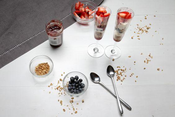 Our Recipes | Frozen Yogurt Berry Parfait for Two Hamptons Lane