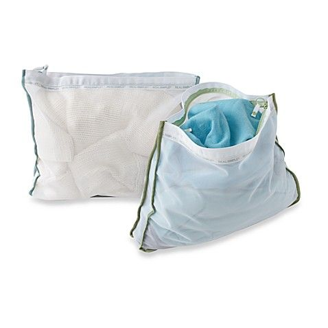 Real Simple Wash Bags Set Of 2 Mesh Laundry Bags Wash Bags