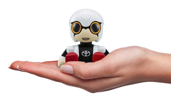 FranMagacine: Toyota comercializará en 2017 su pequeño robot Kir...