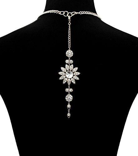 Flower Stone Necklace Back Drop / AZFNBD003-SCL Arras Creations http://www.amazon.com/dp/B00R0DOV7S/ref=cm_sw_r_pi_dp_cttRub1CJ72ED