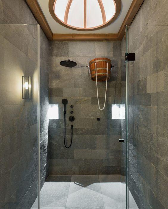 Auskleidung Wellnessdusche Und Badezimmer Mit Hellas Quarzit |  Terrassenbelag | Pinterest | Wellness Spa