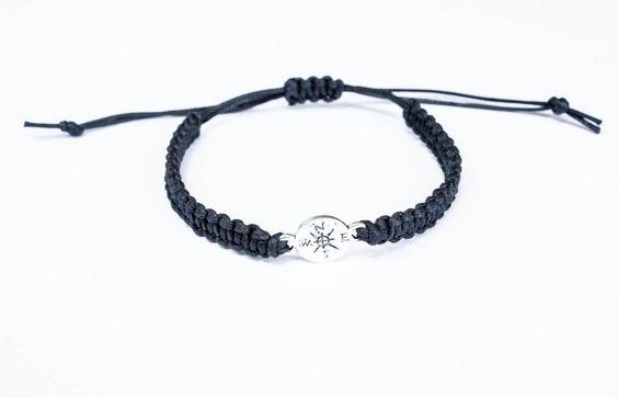 Compass Jewelry, Friendship Bracelet, Best Friend Gift