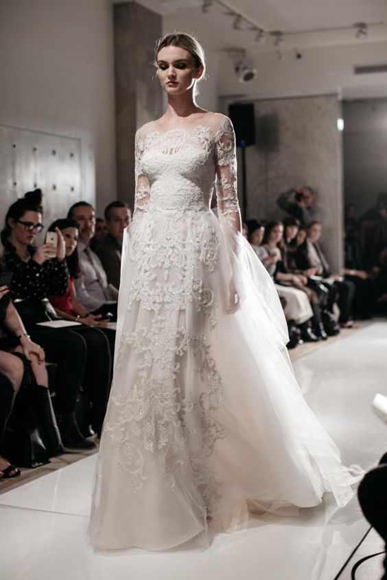 Reem Acra Bridal Spring 2016 / Wedding Style Inspiration / LANE