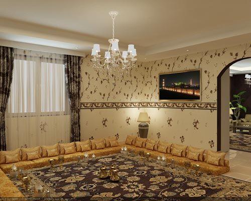 تصميم ديكورات مجالس ضيوف مميزة Living Room Design Decor House Design Design