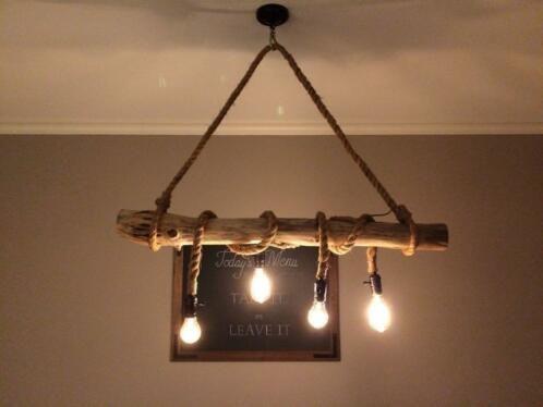 Undefined Touw Lamp Landelijke Lampen Rustieke Lampen