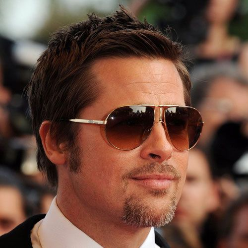 The Best Brad Pitt Haircuts Hairstyles 2020 Update Brad Pitt Haircut Brad Pitt Fury Haircut Short Hair With Beard