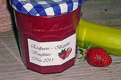 Erdbeer - Bananen - Marmelade (Rezept mit Bild) von Simone69 | Chefkoch.de