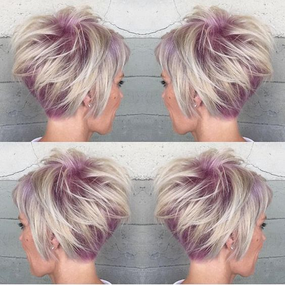 Short. Sassy. Sexy. Can't get enough of this short haircut design by @alexisbutterflyloft #hotonbeauty