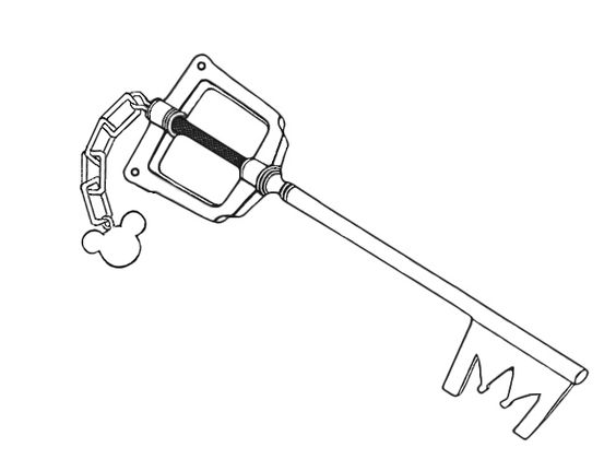 This is an edit of the KH Keyblade that I'm hoping to get ...